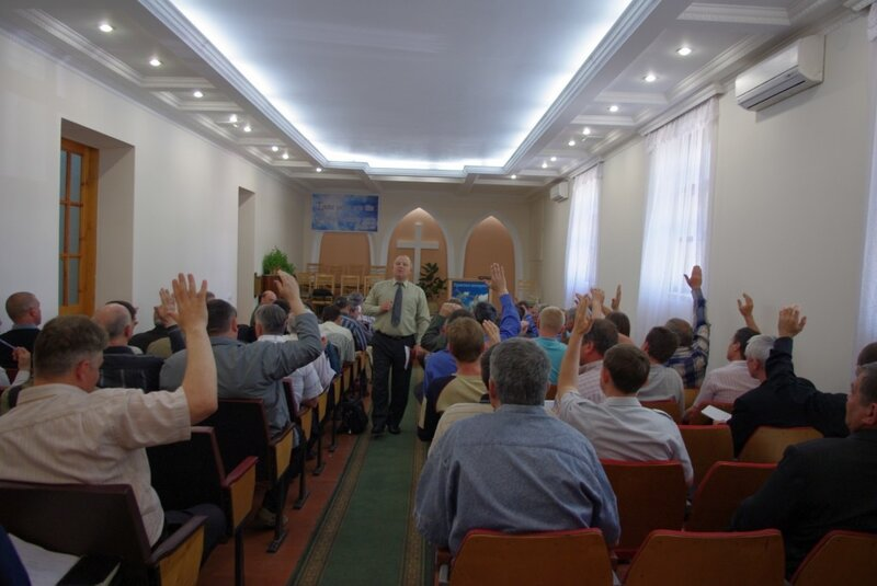 2010г. 8 мая. Конференция ООЦ ЕХБ Луганской обл. Фото О. Соловьевой