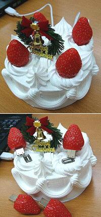 Рождественский USB-торт