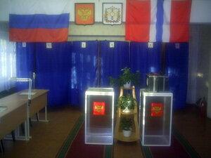На омские избирательные участки ывбирать мэра почти никто не пришёл