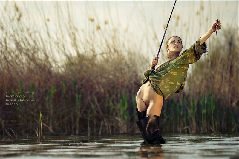 эротика фото рыбалка