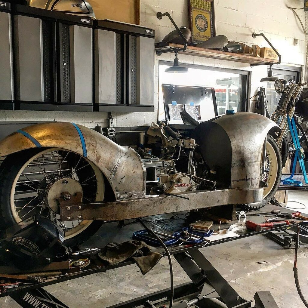 1930 Majestic 500cc & Bernadet Side Car 1.jpg