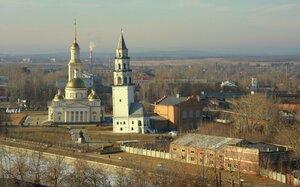 Старинный город Невьянск