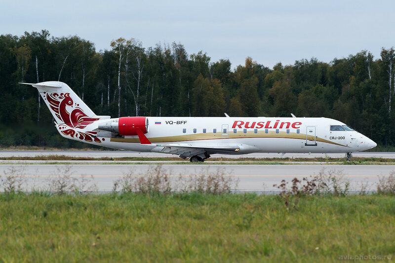 Bombardier CRJ-200ER (VQ-BFF) RusLine 0236_D805572