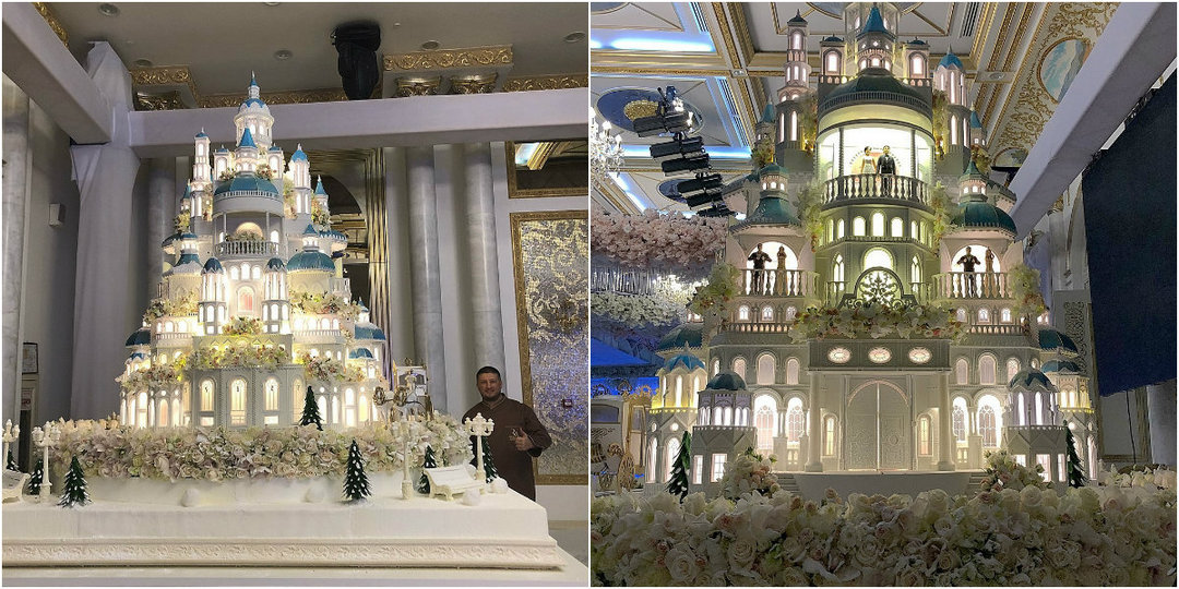 Российский кондитер изготовил торт стоимостью 179 000$ для свадьбы в Казахстане