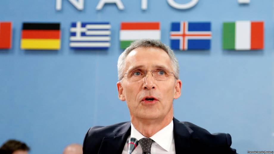 Дипломатические каналы позволяют НАТО глазу на глаз говорить с Россией о ее агрессию в Украине – Столтенберґ
