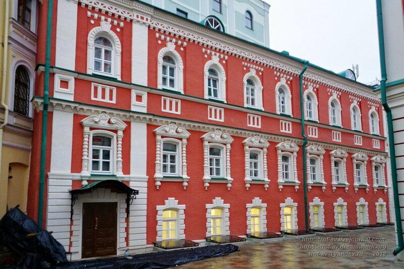 Келейный корпус Богоявленского монастыря, Москва
