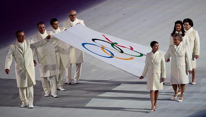 Сочи 2014- церемония открытия Олимпийских игр