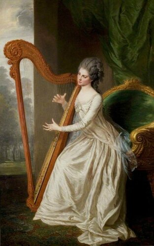 William Hoare (British, 1707-1792) Lady Frances Seymour Conway (1751-1820), Countess of Lincoln