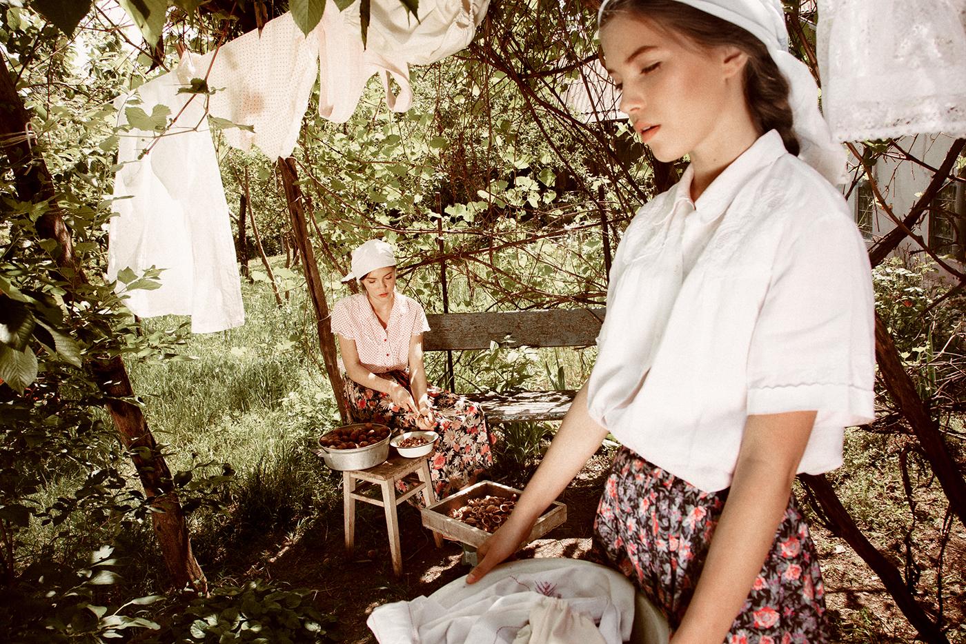 В деревне / фотограф Вероника Орлова