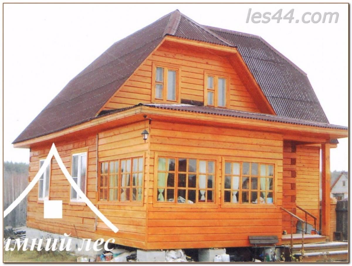Дома из бруса от компании Зимний лес