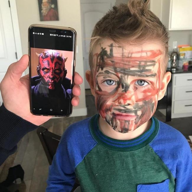 © rdixonp / reddit      «Наш 8-летний сын проснулся рано утром, чтобы собрать для