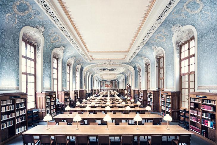 2. La Bibliotheque Sainte-Genevieve. Библиотека Святой Женевьевы — одна из крупнейших публичных и ун