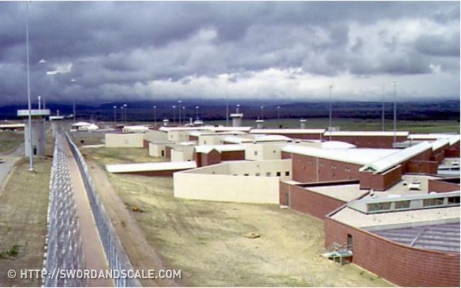 © http://swordandscale.com     Тюрьма  ADX Florence  для наиболее опасных