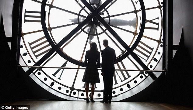 Кейт Миддлтон и принц Уильям в музее Орсе в Париже.