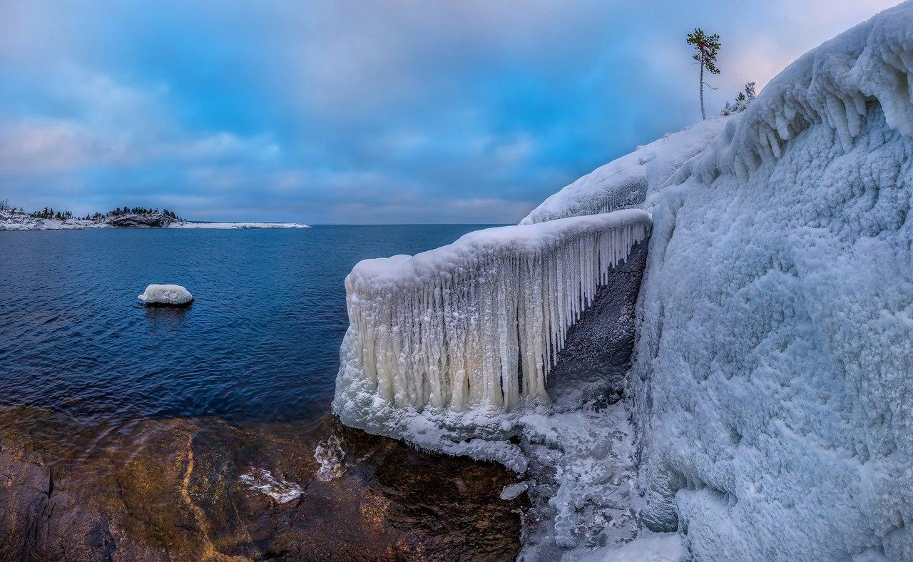 Великолепие зимней Карелии. Фотограф: Лашков Фёдор