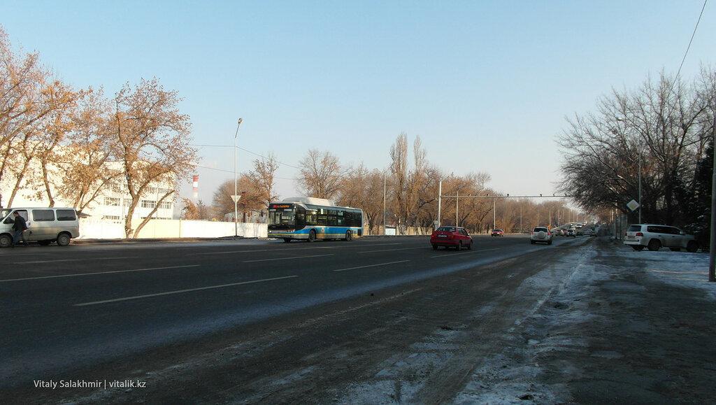 Улица Бекмаханова.