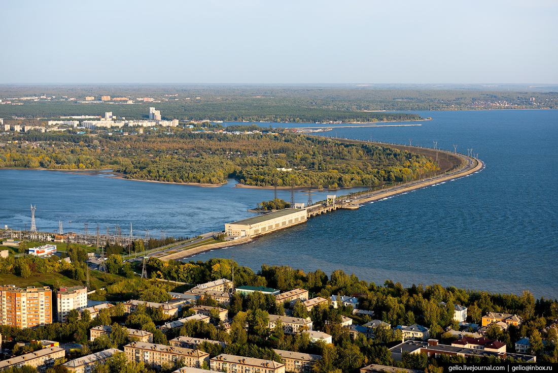 Новосибирск с вертолёта: лето-2017