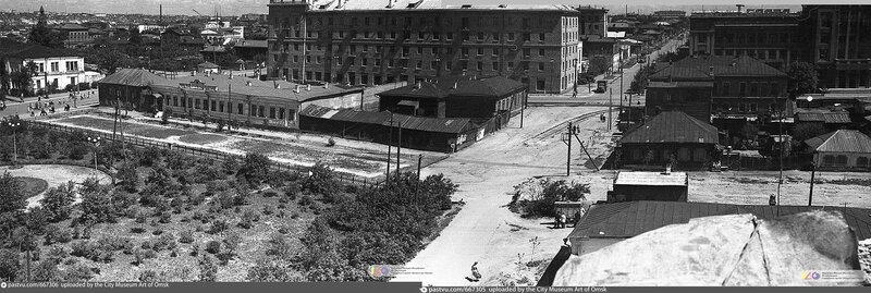 5_6  Вид с башни Генерал-Губернаторского дворца, на Лермонтова Panorama Ant 2.jpg