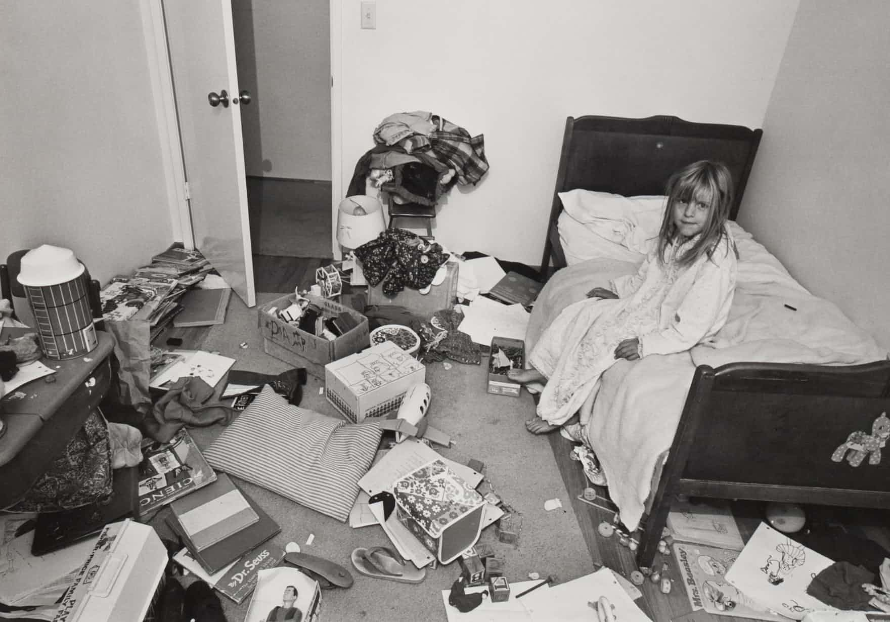 """""""I wanted Christina to learn some responsibility for cleaning her room, but it didn't work."""" 1973 /"""