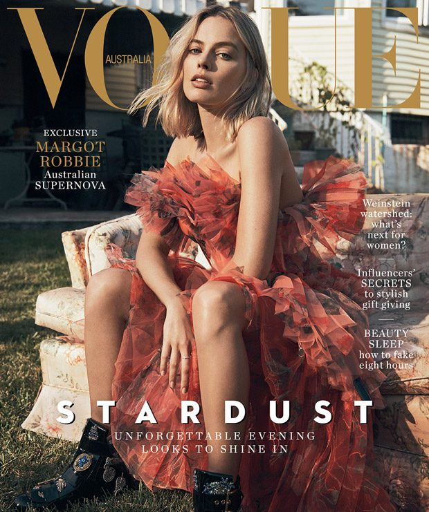 Vogue Australia  enlists actress  Margot Robbie  to star in the cover