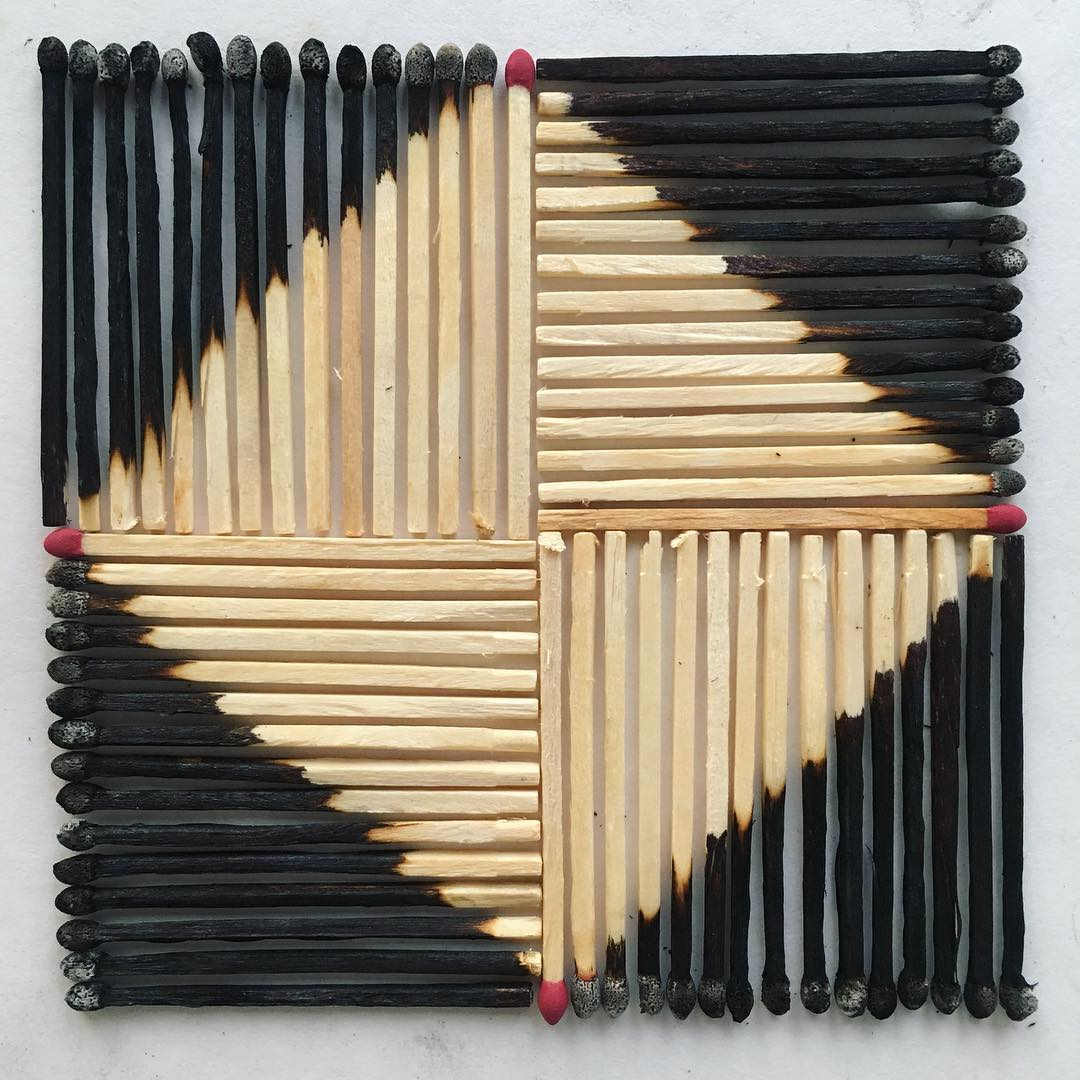 Everyday Objects Obsessively Organized into Patterns by Adam Hillman