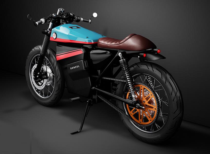 Stunning Honda Electric Cafe Racer Concept