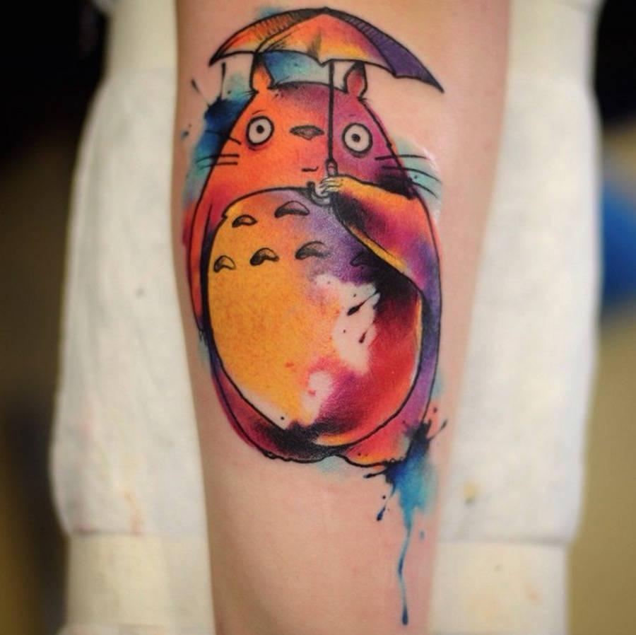 Studio Ghibli Tattoos