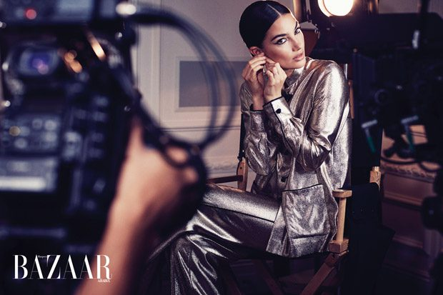 Lily Aldridge Stars in Harper's Bazaar Arabia December 2017 Cover Story (18 pics)