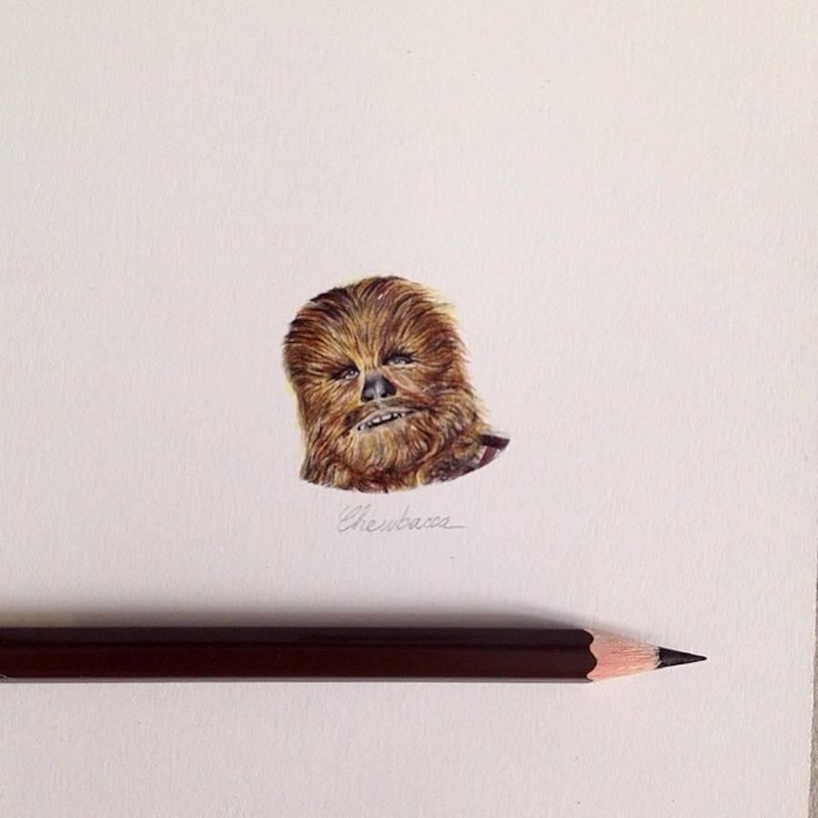 Tiny Star Wars Illustrations