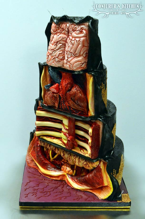 The Dissected Cake – Bad taste and culinary anatomy…