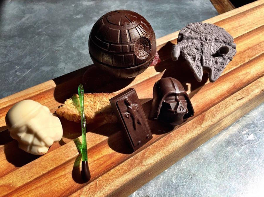Handcrafted Star Wars Desserts