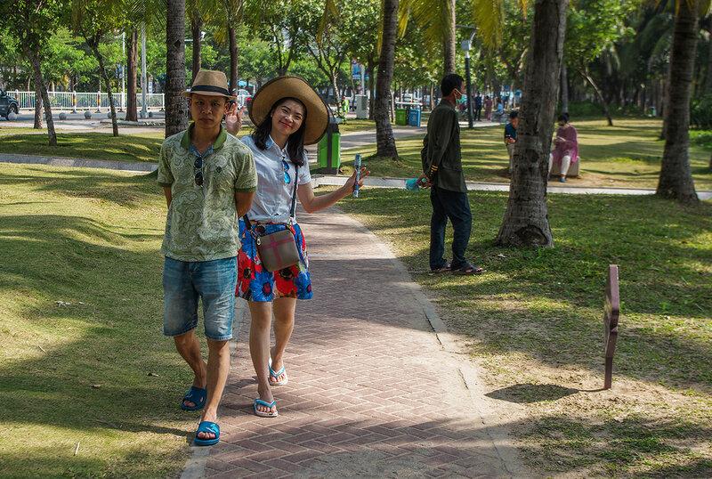 Фотографирование без предупреждения, а также видеозапись в общественных местах в Китае