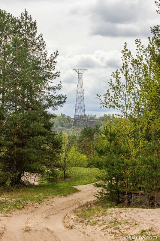 Шуховская башня на Оке, Нижегородская область