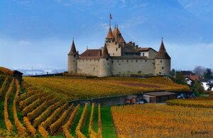Замок осени
