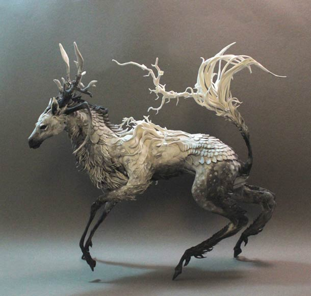 Surreal Animal Sculptures - Ellen Jewett