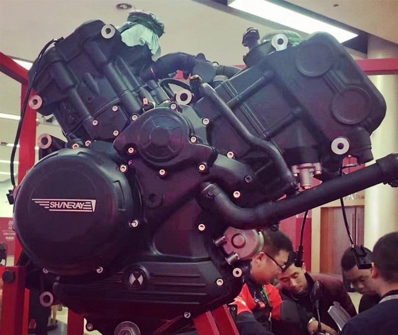 Компания Shineray представила прототипы новых моторов V-Twin
