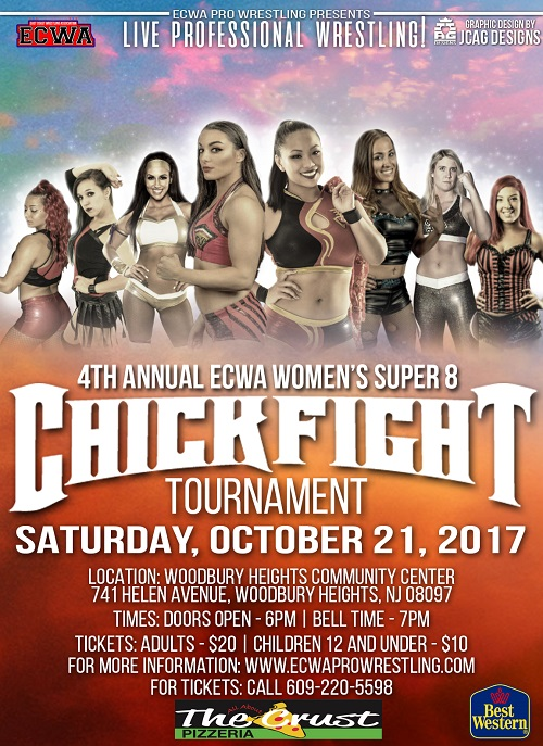 Post image of Карен Кью выиграла ECWA ChickFight 2017
