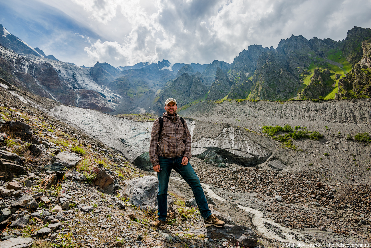 Сказ о том как SKAZNOV к Сказскому леднику ходил...