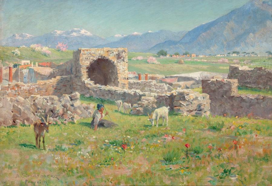 Pompeji , 1891