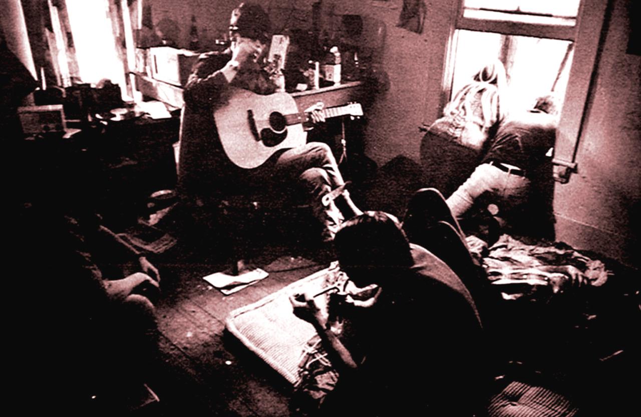 1967. Хиппи-вечеринка