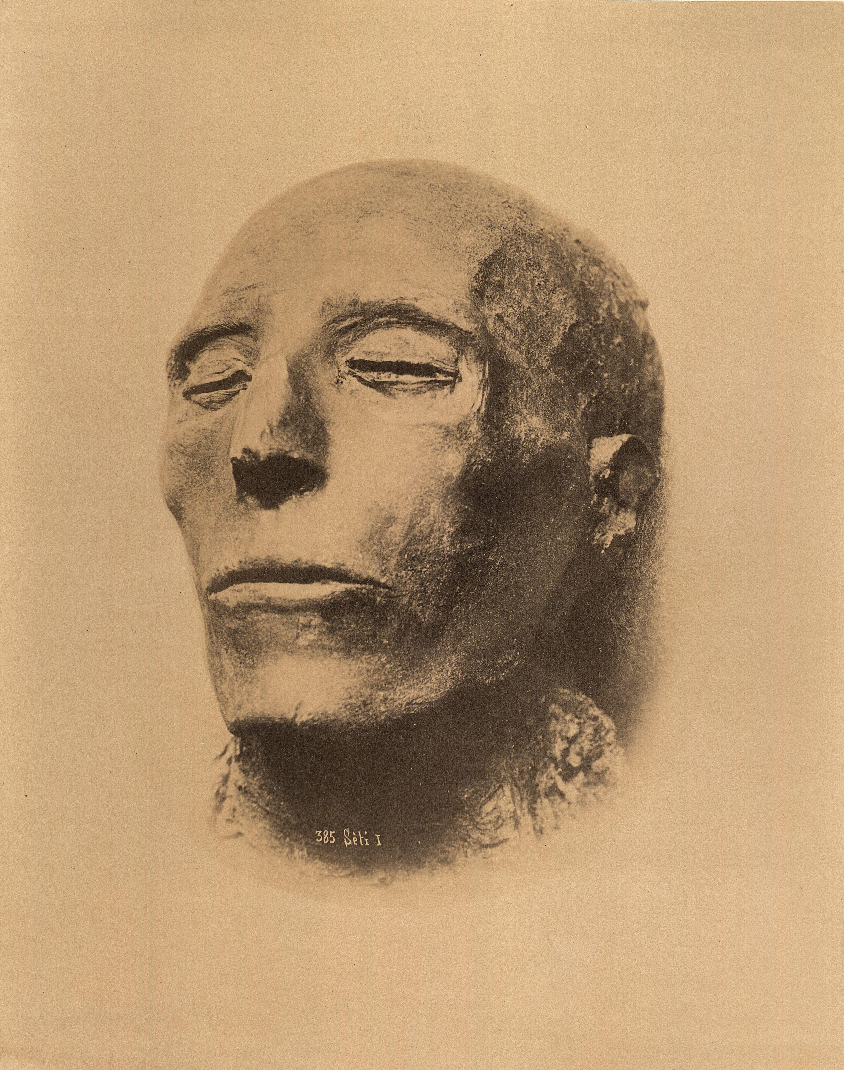 Каирский музей. Мумия фараона Сети I, отца Рамсеса II