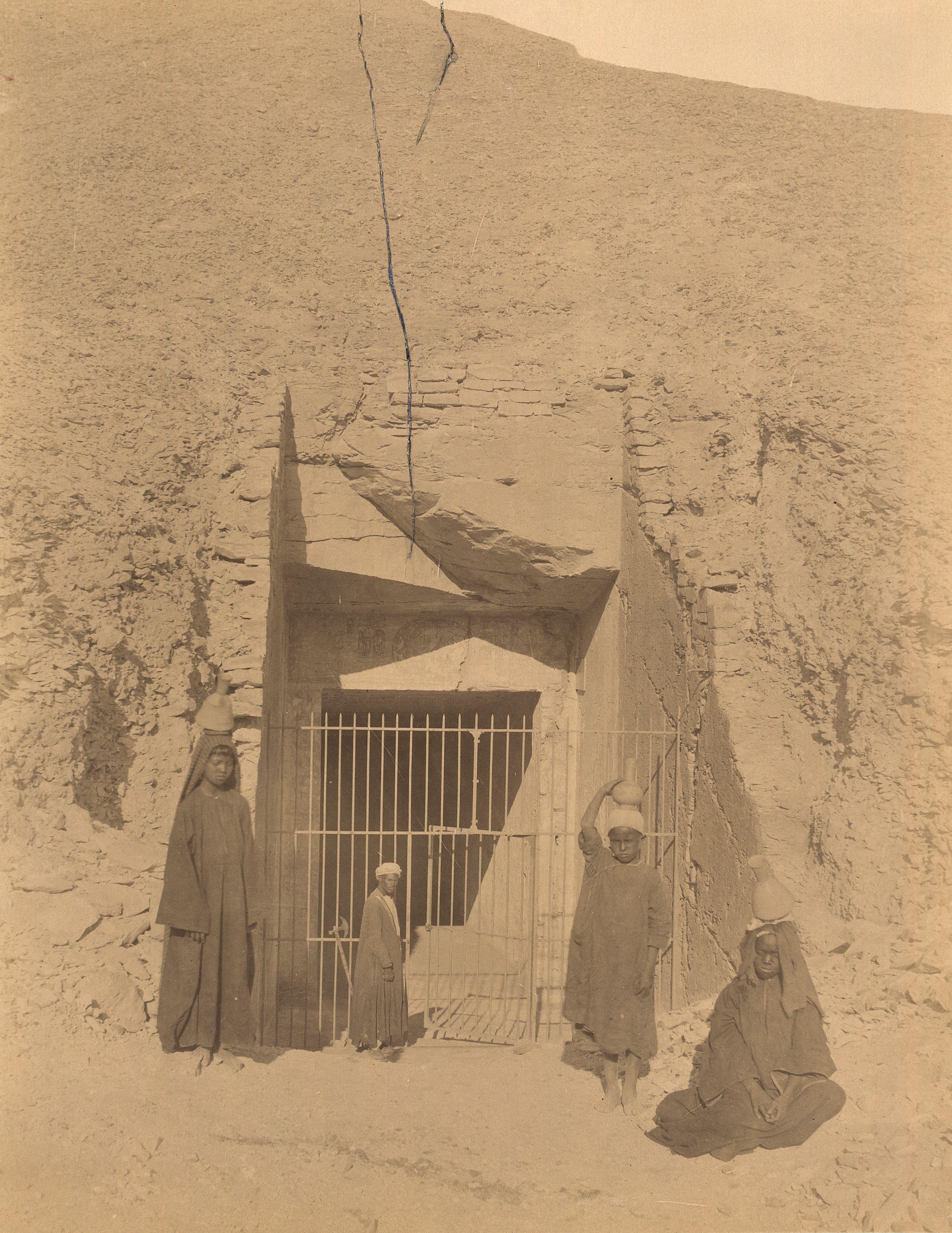 Долина царей. Гробница Рамсеса IV