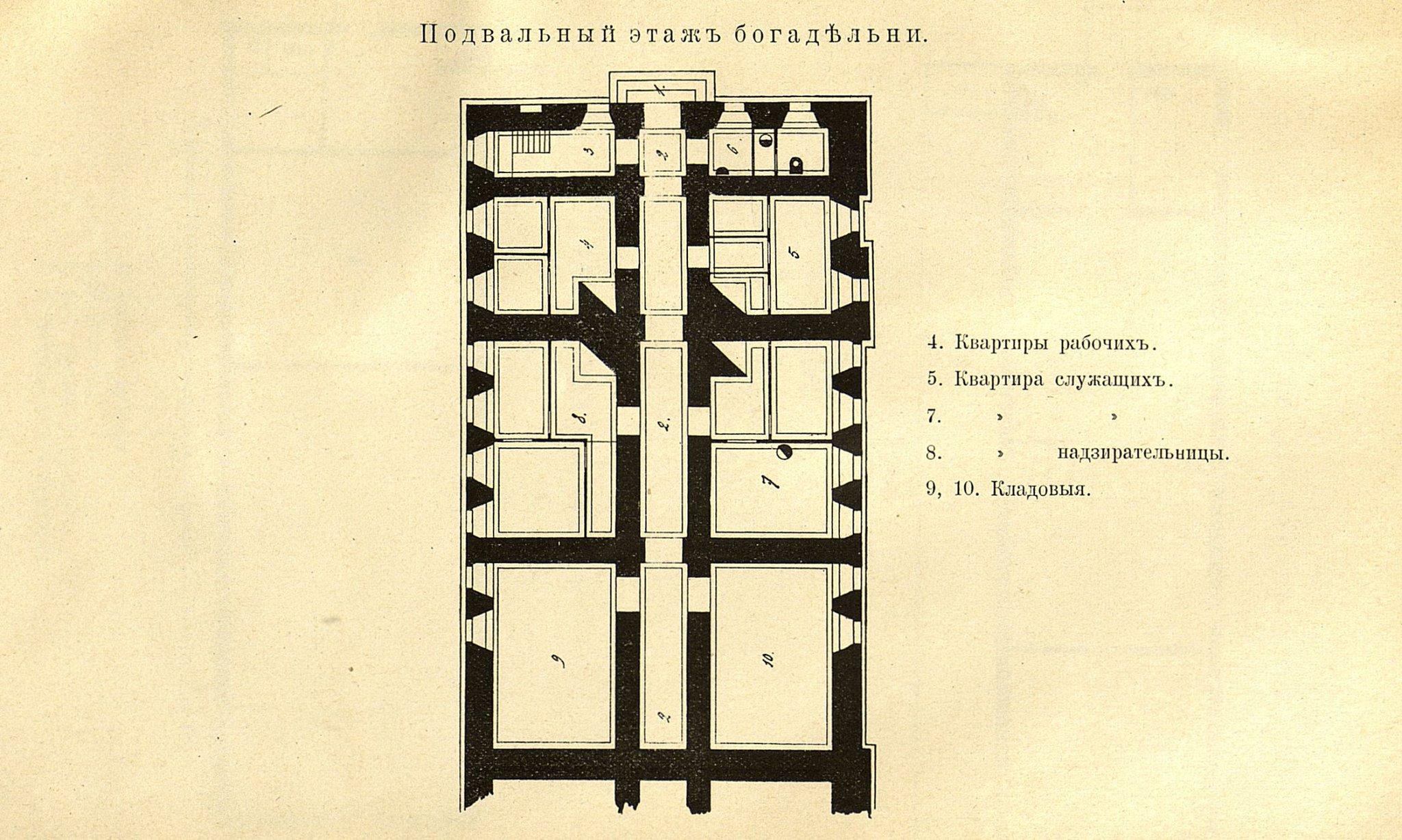 31. Богадельня. Подвальный этаж