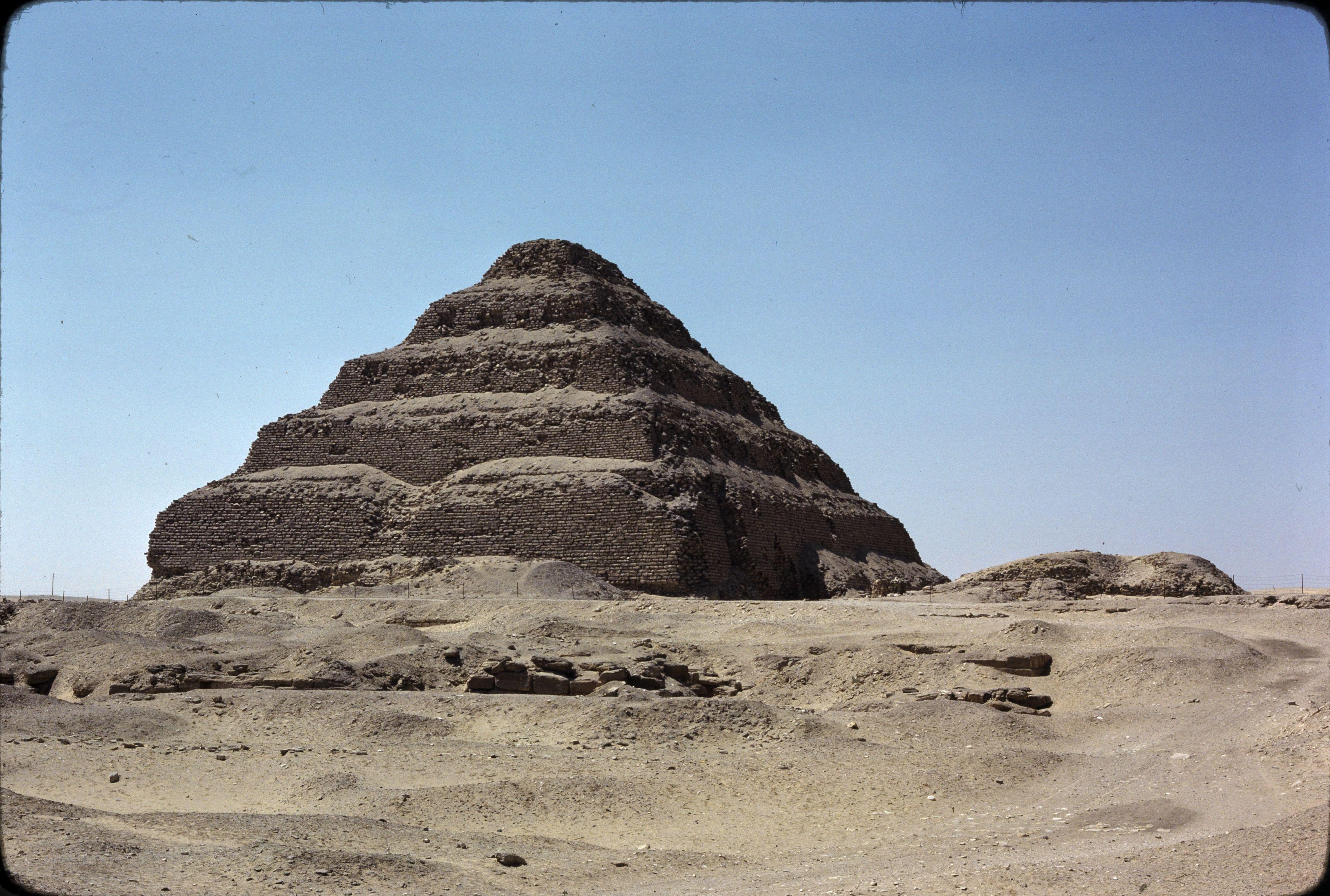 07. Саккара. Ступенчатая пирамида Джосера