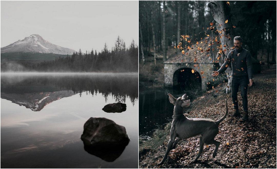 Темные и таинственные приключения и пейзажи Франа Марта