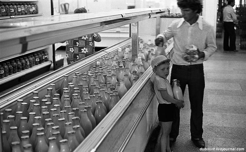 По волнам нашей памяти: молоко и молочные продукты СССР (22 фото)