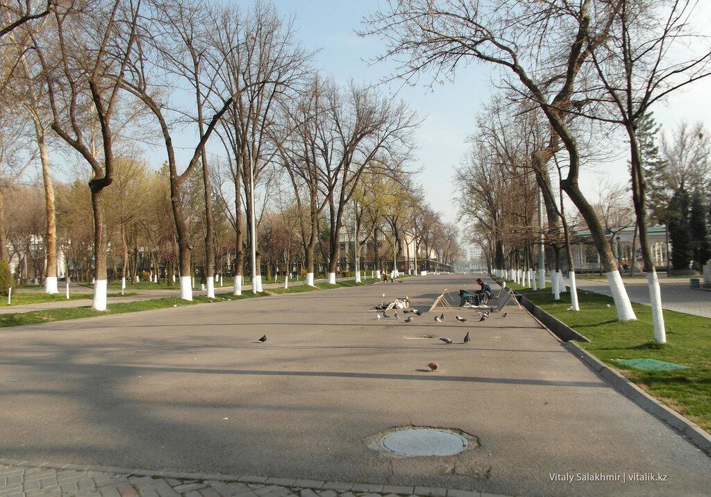 Пустой Арбат в Ташкенте, Узбекистан
