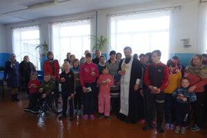 Посещение школы-интерната сотрудниками детской библиотеки