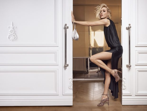 Supermodels Anja Rubik & Clement Chabernaud for Jimmy Choo