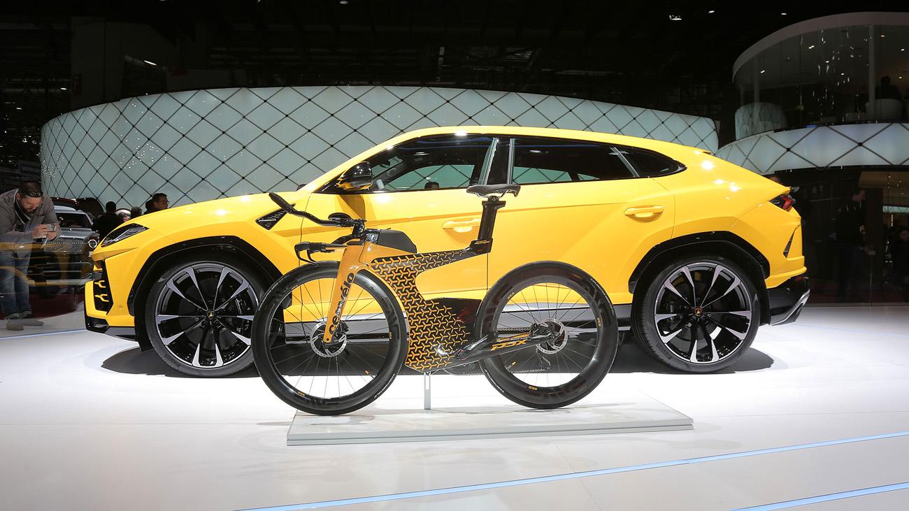 Lamborghini x Cervelo The Future of Cycling